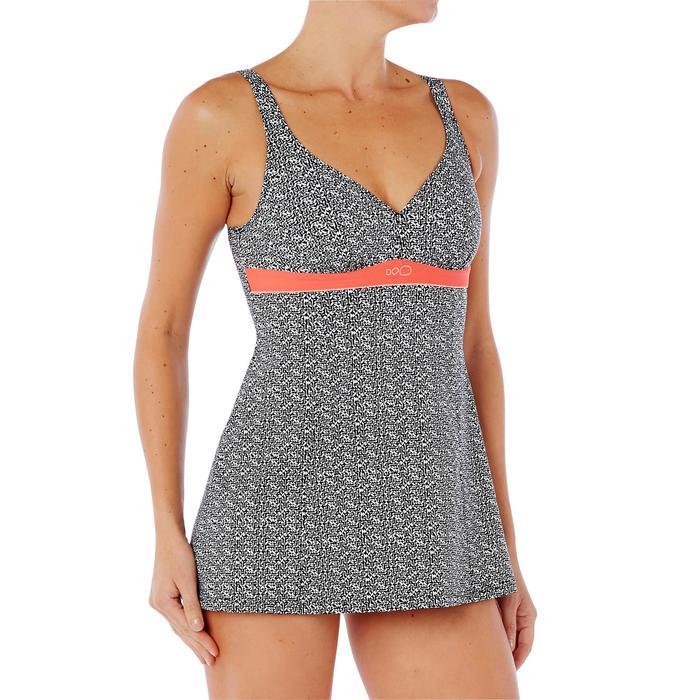 Badeanzug Kaipearl Skirt figurformend Damen weiß