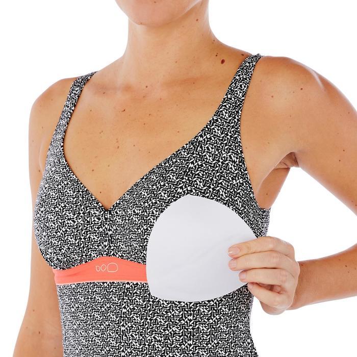 Maillot de bain de natation femme gainant une pièce Kaipearl skirt - 1337993