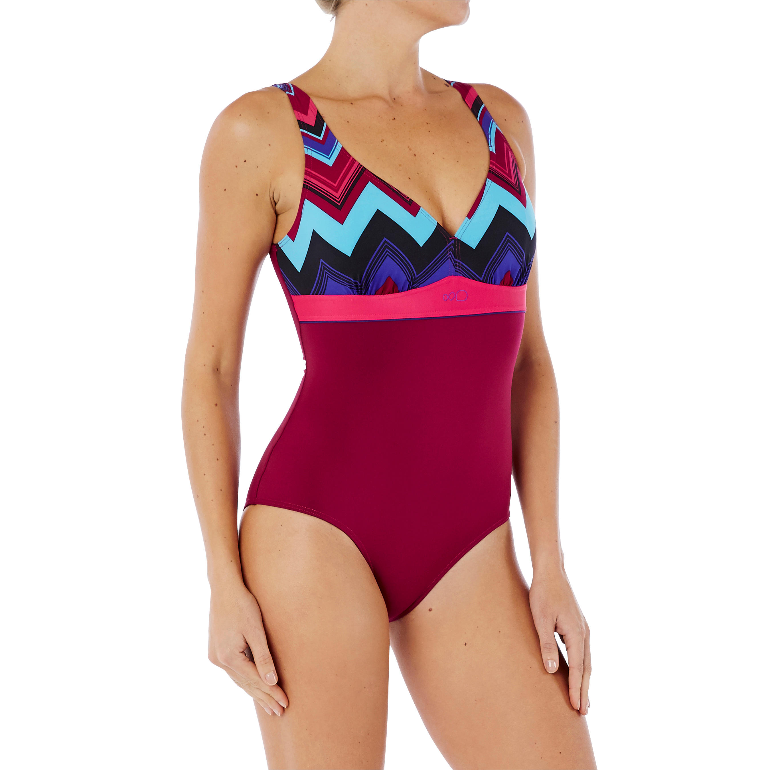 Kaipearl Women's Body-Sculpting One-Piece Swimsuit – Triki Purple