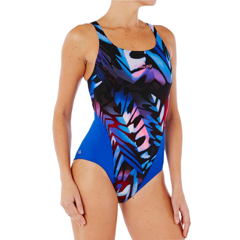 WOMEN'S SWIMSUITS Swimming - KAMIYE 1P SWIMSUIT - PINK NABAIJI - Swimwear