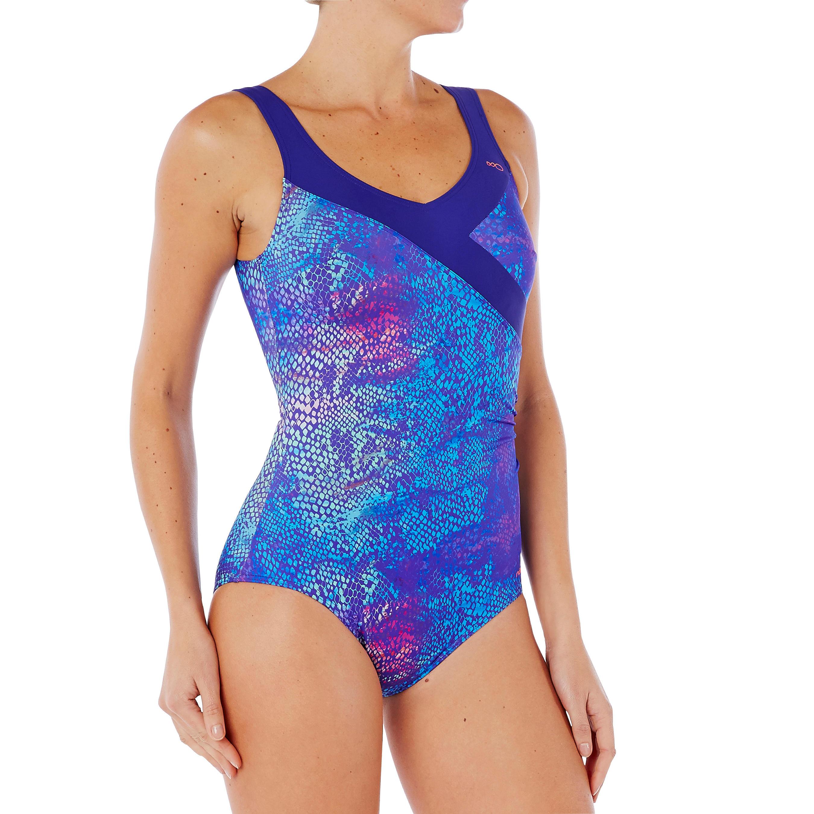 Women Aquagym costume Karli - BLUE