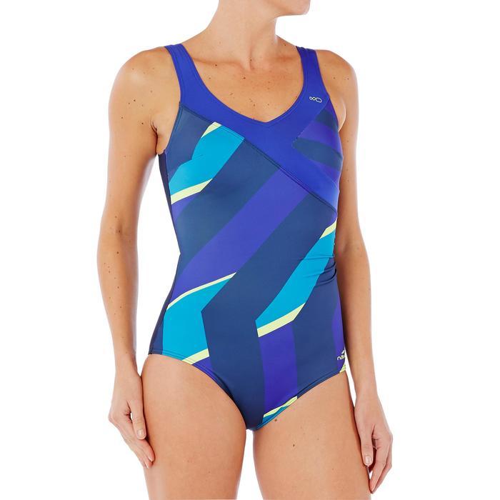 Badeanzug Aquagym figurformend Karli Fic Damen gelb