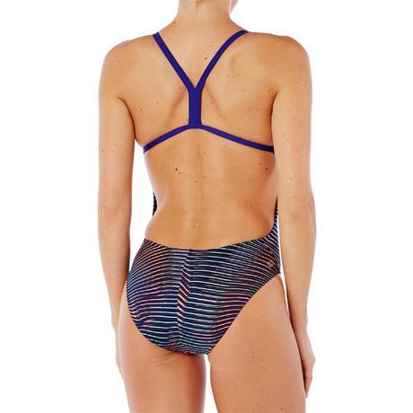 458f92670b11 Maillot de bain de natation une pièce femme résistant au chlore Lidia Vib  blue. Previous. Next
