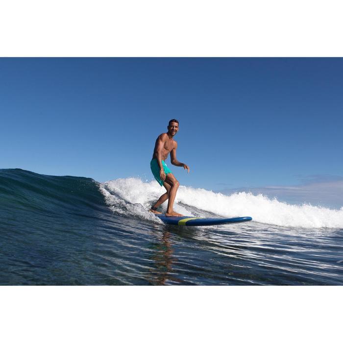 """Bañador Corto Surf Olaian Hendaia Hombre Turquesa 16"""""""