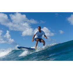 Korte boardshort Hendaia NT blauw