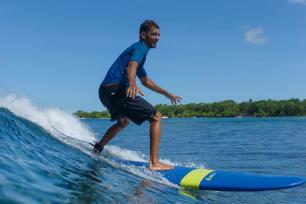 surfeur goofy