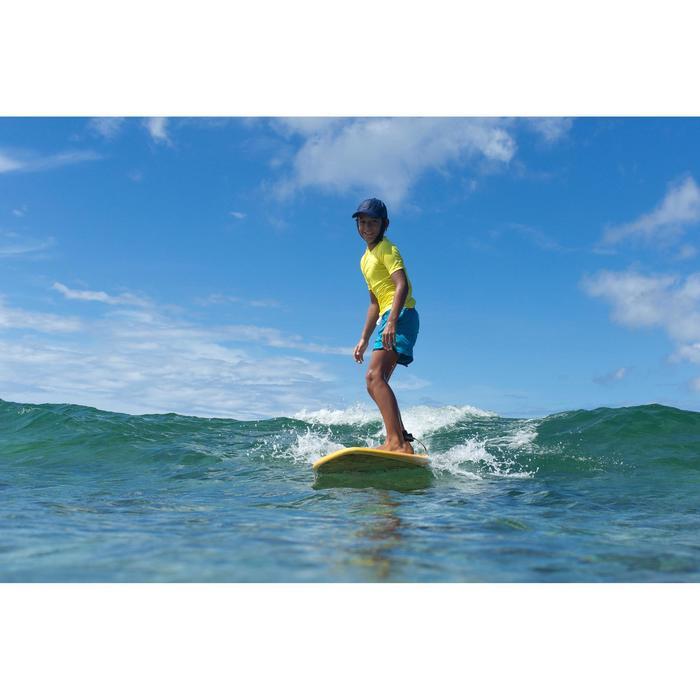 Surfboard aus Schaumstoff 100 Soft 7' mit Leash und Finnen