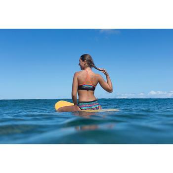 Bikini-Oberteil Bustier Baha Naimi gekreuzte Rückenträger Surfen Mädchen