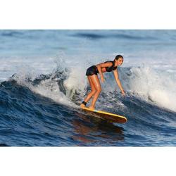 Surfboard Schaumstoff Soft 7' 100 inkl. Leash und 3 Finnen