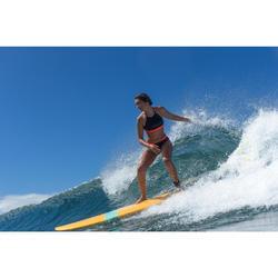 Bañador shorty de surf para niña Mas negro