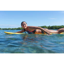 Badeanzug Bustier Baha Naimi gekreuzte Rückenträger Surfen Mädchen
