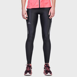 Women's Jogging Tights Run Dry+ - Mottled Black