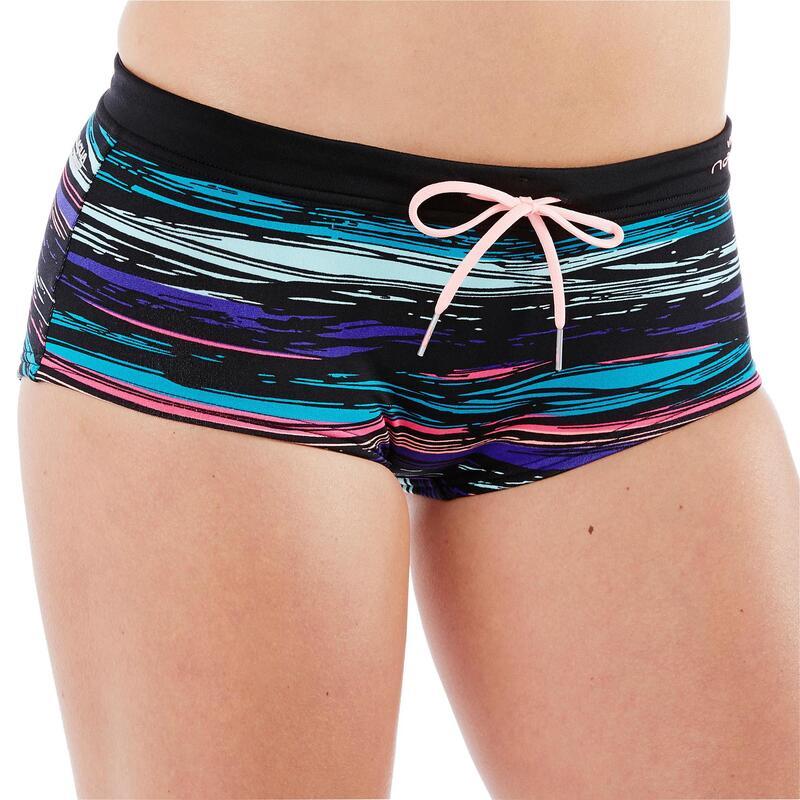 Meg ultra chlorine-resistant aquafitness pool shorts STRI black
