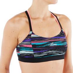 Bikinitop Aquafitness Aquabike Meg Stri zwart