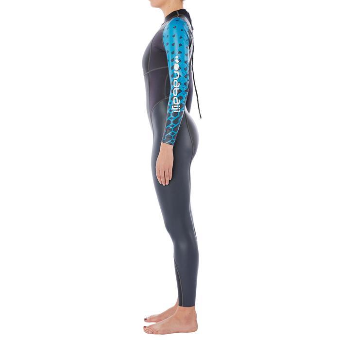 Combinaison natation néoprène OWS100 1/0mm femme eau temperée