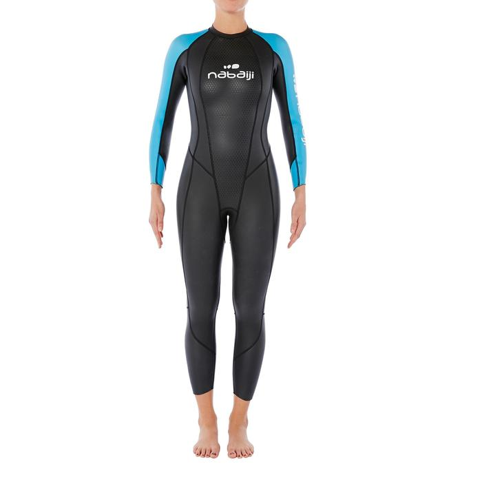 Combinaison de natation néoprène OWS500 2,5/2 mm femme eau tempérée - 1338213
