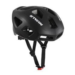 Fahrradhelm Rennrad 100 schwarz