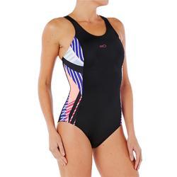 Maillot de bain de natation femme une pièce Vega noir