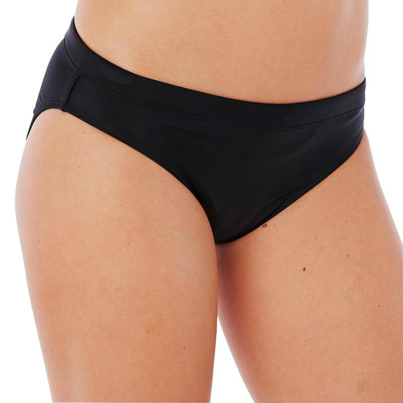 Parte inferior de bikini de natación mujer Vega Negra