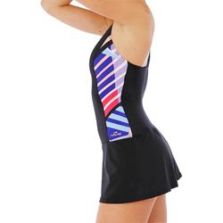 Damesbadpak met rokje Vega Skirt zwart