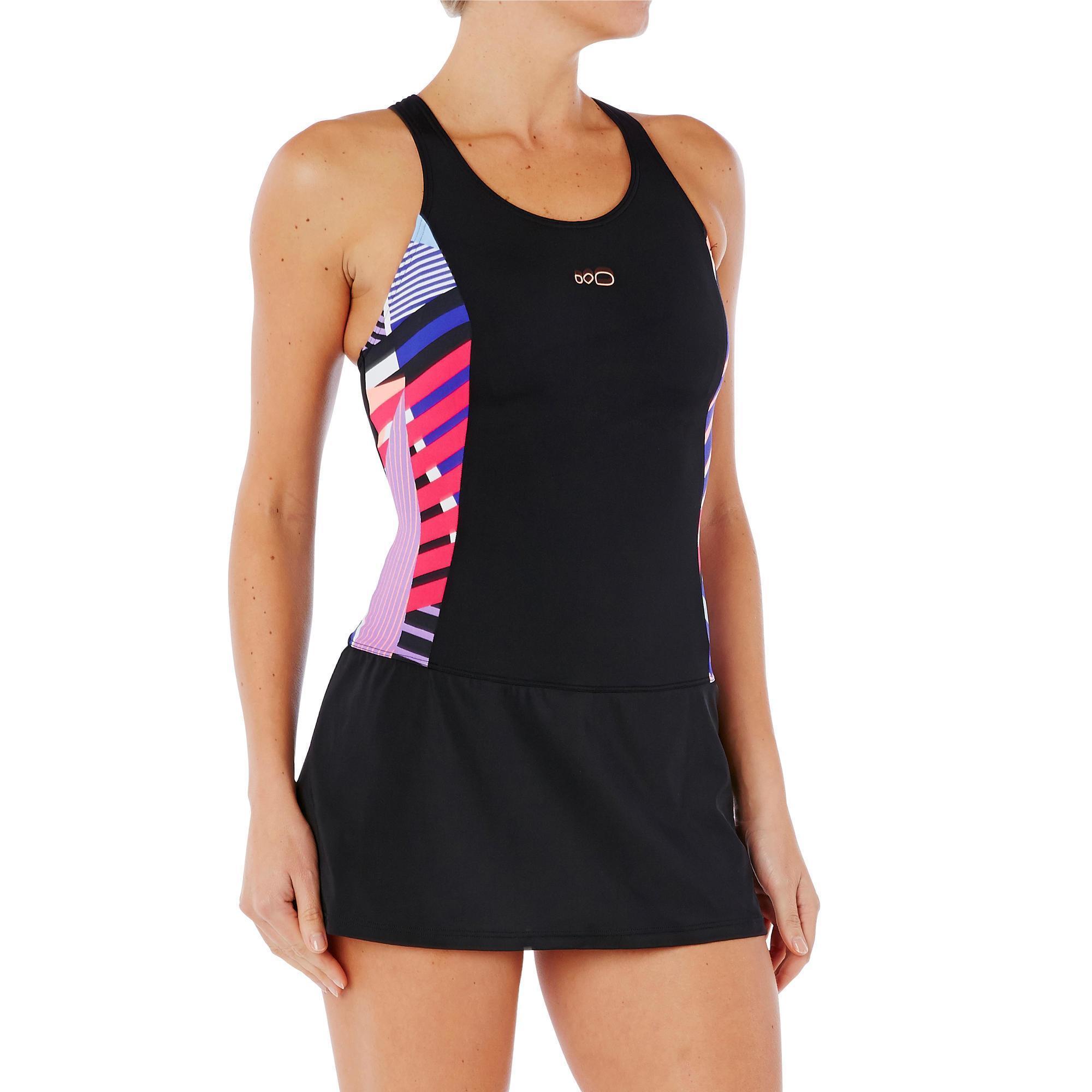 maillot de bain de natation femme une pi ce vega skirt. Black Bedroom Furniture Sets. Home Design Ideas