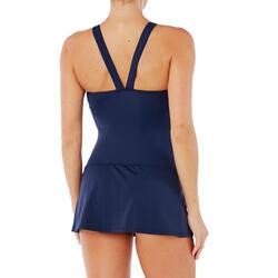 badpak dames Vega skirt Kal blauw