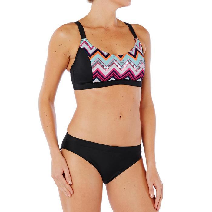 Sujetador de bikini de natación mujer Vega Evro Negro Verde