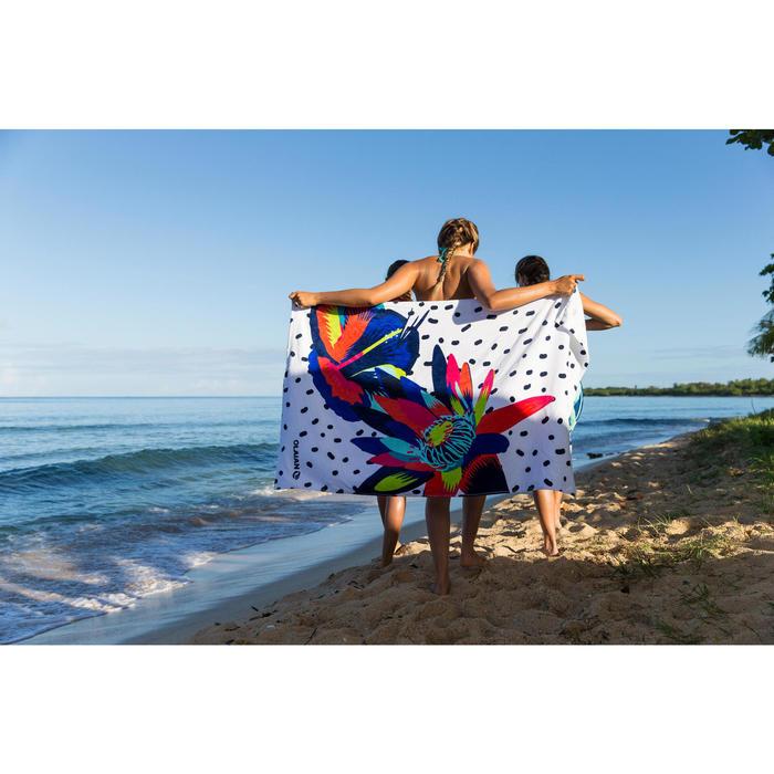 毛巾Basic L號145 x 85 cm-街花款