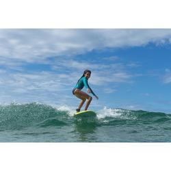 Surfboard 100 Schaumstoff Soft 6' inkl. Leash und 3 Finnen