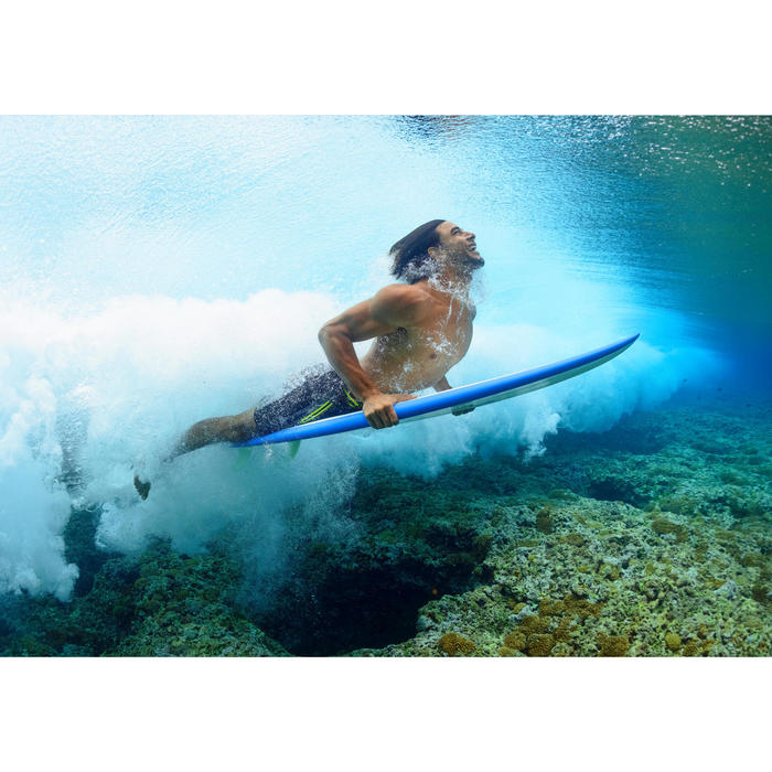 Boardshorts Surfen SBS 950 Herren türkis
