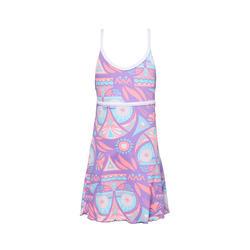Riana Girls' One-Piece Swimsuit - Owly Purple
