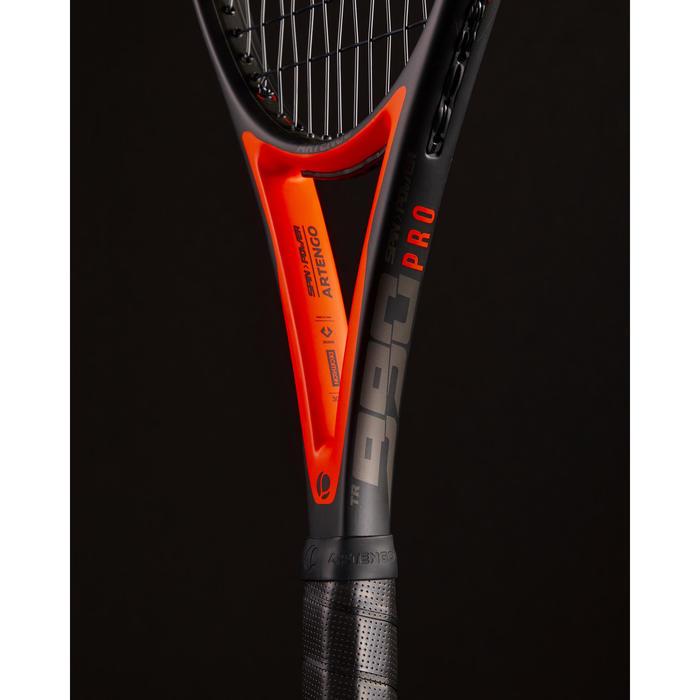 Tennisracket gevorderden TR 990 Pro zwart oranje
