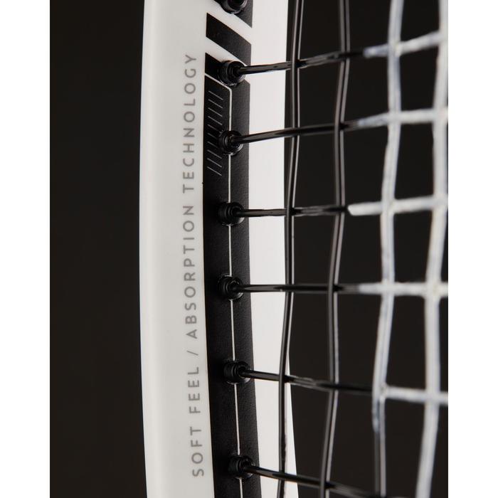 RAQUETTE DE TENNIS ADULTE TR 960 PRECISION BLANC ROUGE