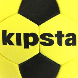 Balón de Fútbol Kipsta Fieltro fino amarillo