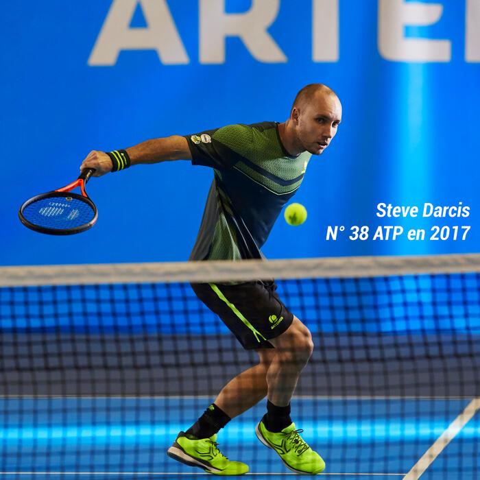 Tennisracket voor volwassenen TR 990 zwart/rood
