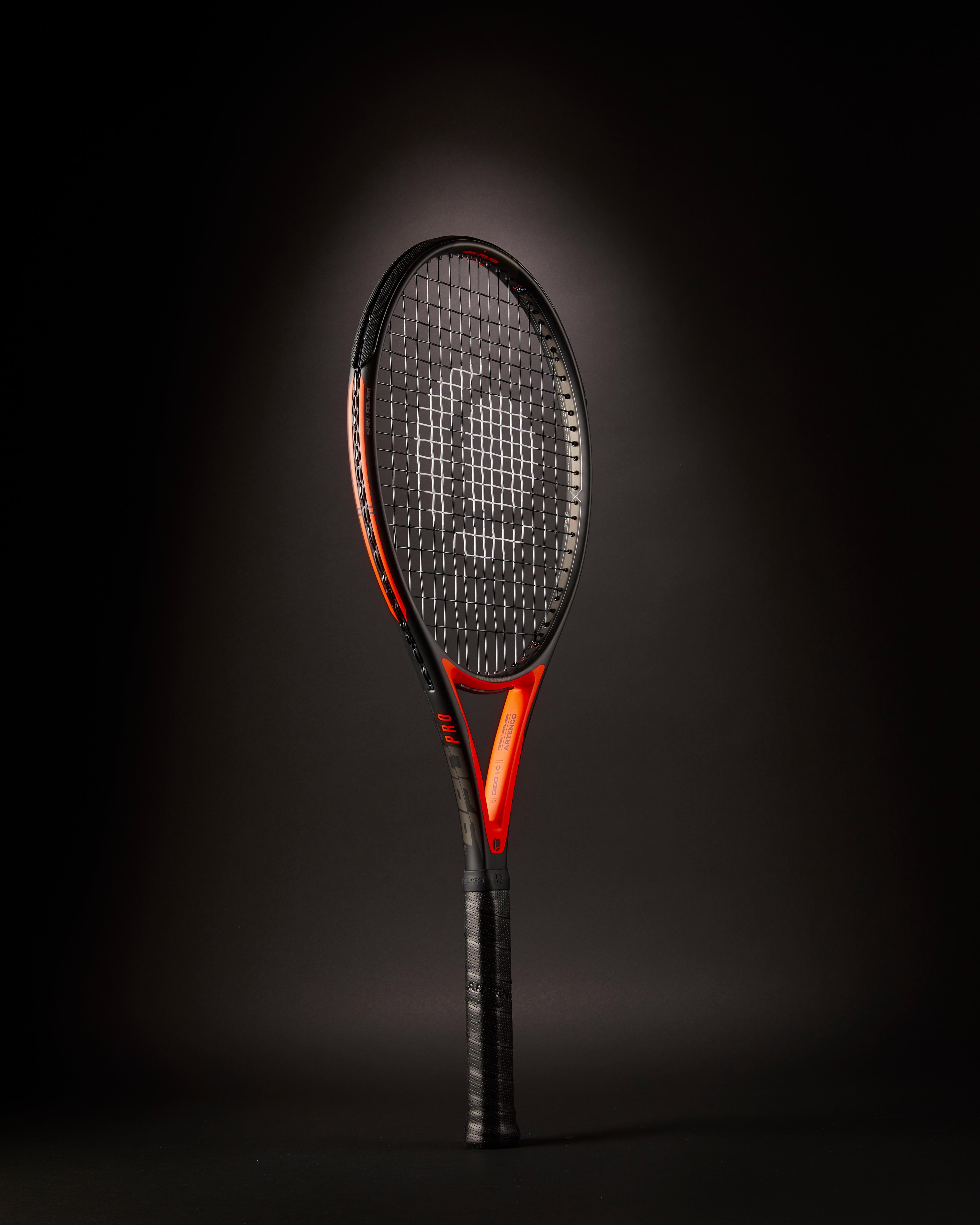 Artengo Tennisracket ervaren spelers TR 990 Pro zwart oranje