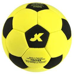 Vilten zaalvoetbal maat 5 geel - 133863