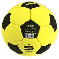 Vilten zaalvoetbal maat 5 geel - 133864