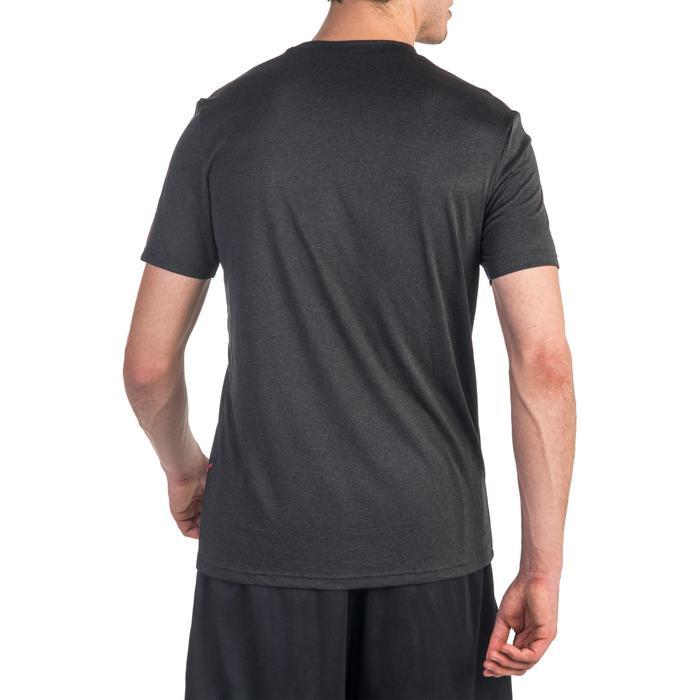 Basketballshirt Fast Terrain Herren Fortgeschrittene schwarz/rot