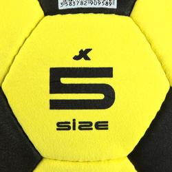 Vilten zaalvoetbal maat 5 geel - 133866
