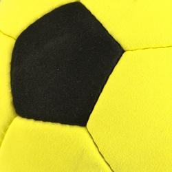 Ballon de foot en salle Feutrine jaune