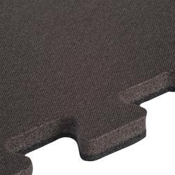 Zachte vloertegel voor peuter- en kleutergym 500 donkergrijs