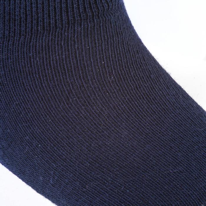 Lot de 2 paires de chaussettes basses Baby Gym blanc/marine