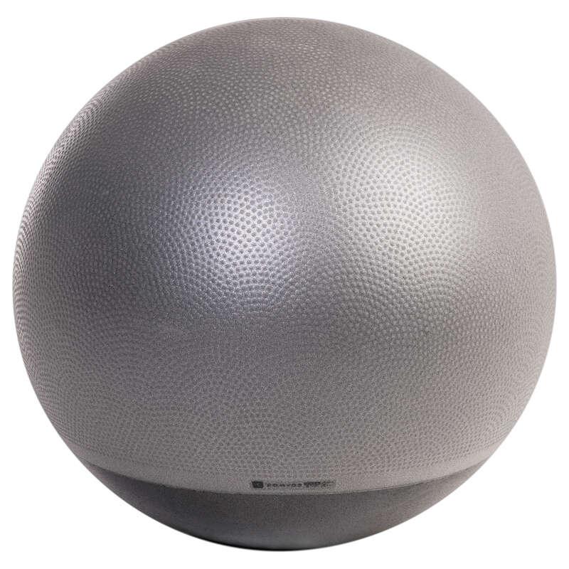 PILATES FELSZERELÉS Pilates, torna, trambulin, gyerekjáték - Stabil fitneszlabda, közepes NYAMBA - Fitness - DOMYOS