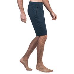 Short 520 slim au dessus du genou Pilates Gym douce homme bleu marine