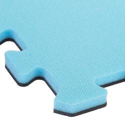 Zachte vloertegel voor peuter- en kleutergym 500 blauw