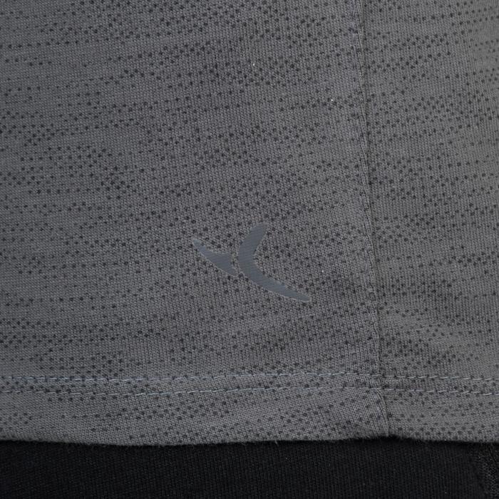 T-Shirt 520 slim col V Gym & Pilates homme printé - 1338834