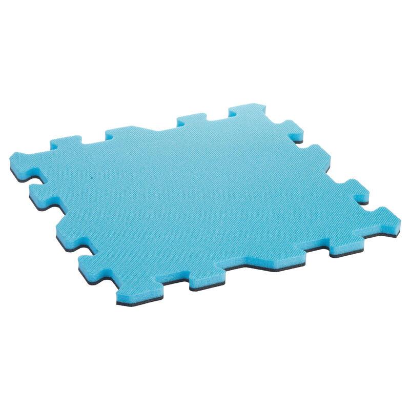 Vloertegel voor kleutergym blauw