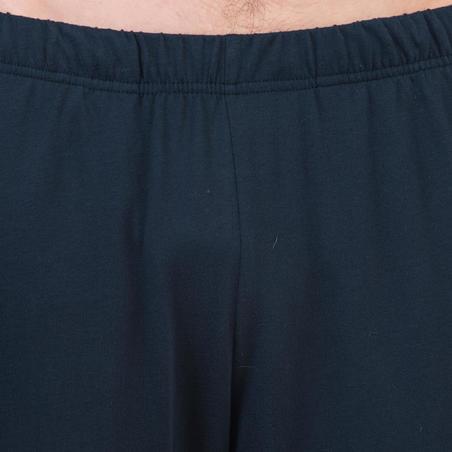 Pants 100 regular gimnasia y pilates hombre azul marino