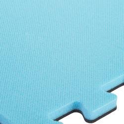 Gym vloertegel 500 voor kinderen blauw